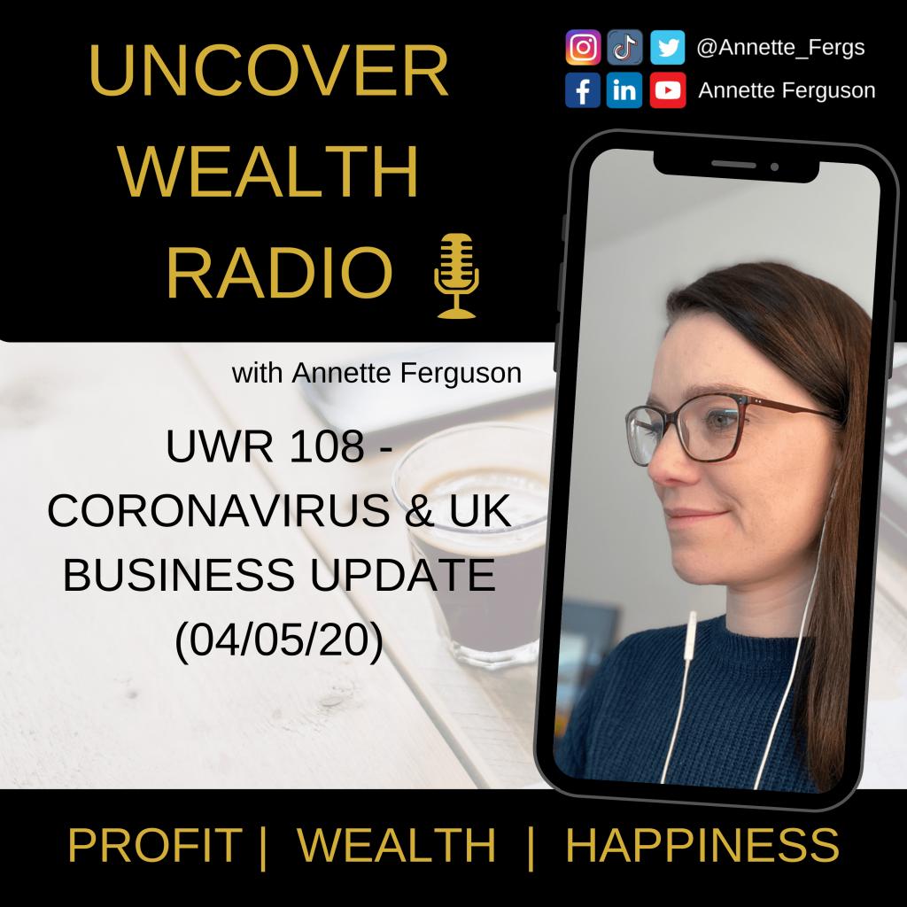 Annette Ferguson Podcast Banner - UWR 108