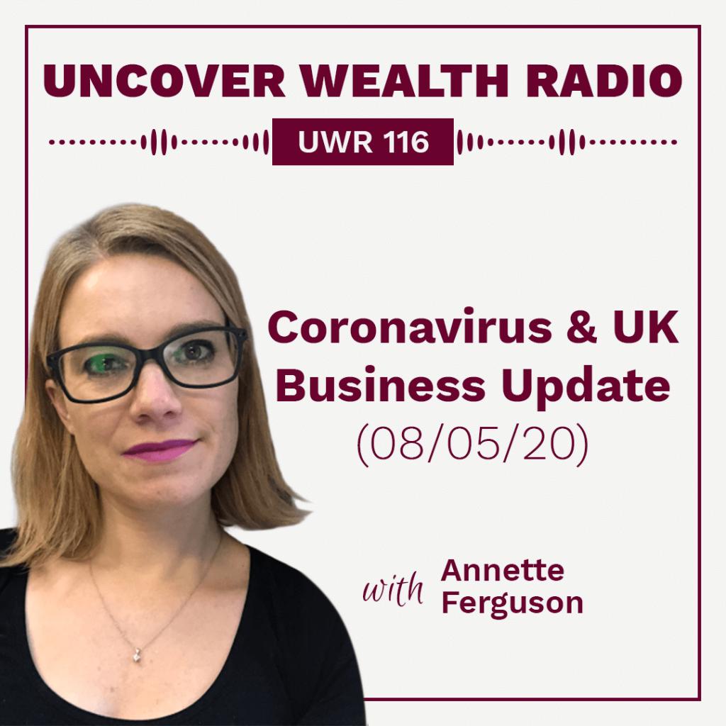 Annette Ferguson Podcast Banner - UWR 116