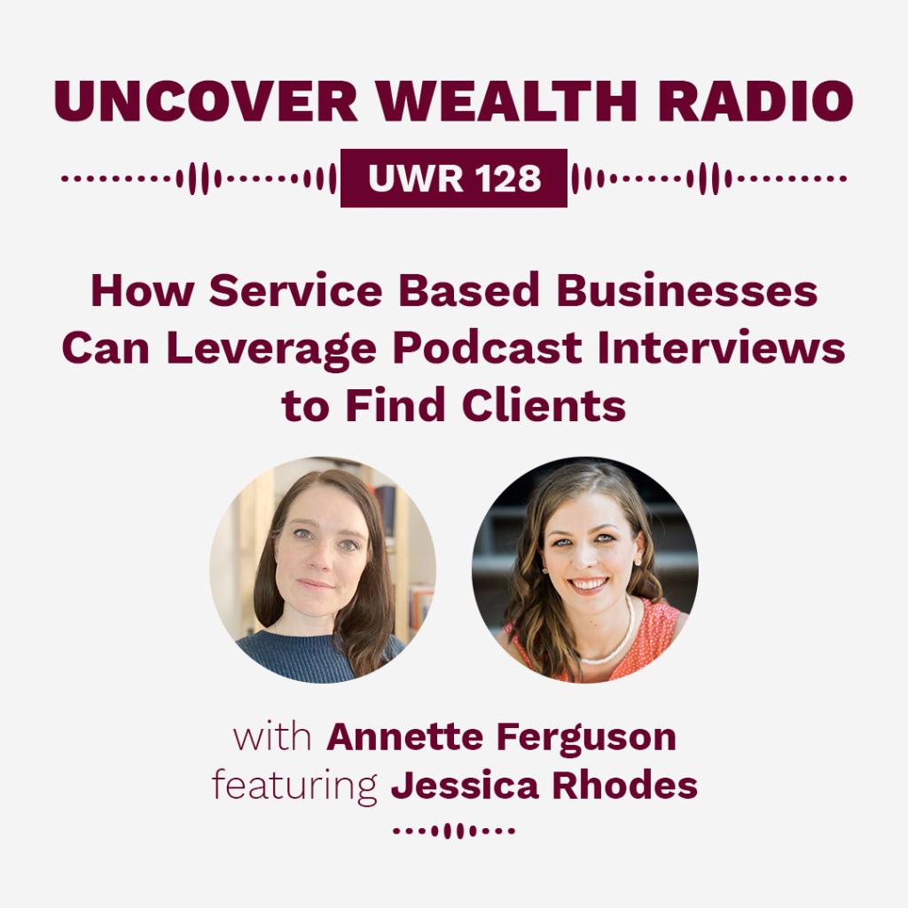 Annette Ferguson Podcast Banner - UWR 128
