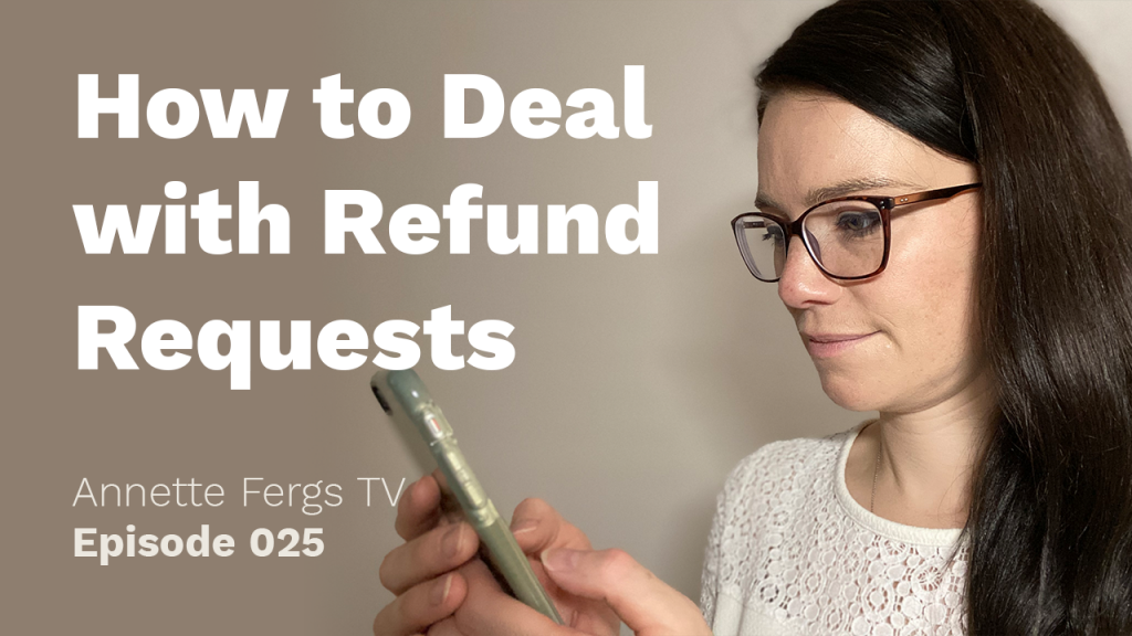 a featured image of a blog post that highlights the topic How to deal with refund requests