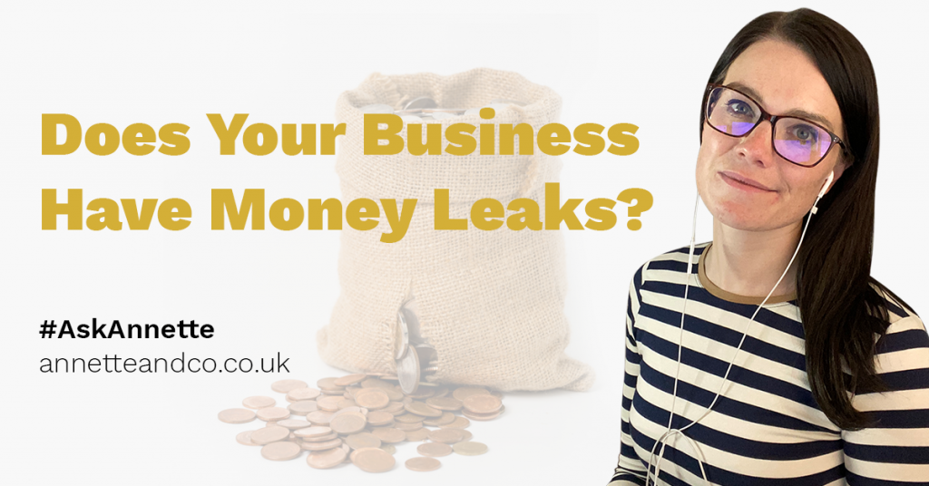 a featured blog image post entitled does your money have money leaks
