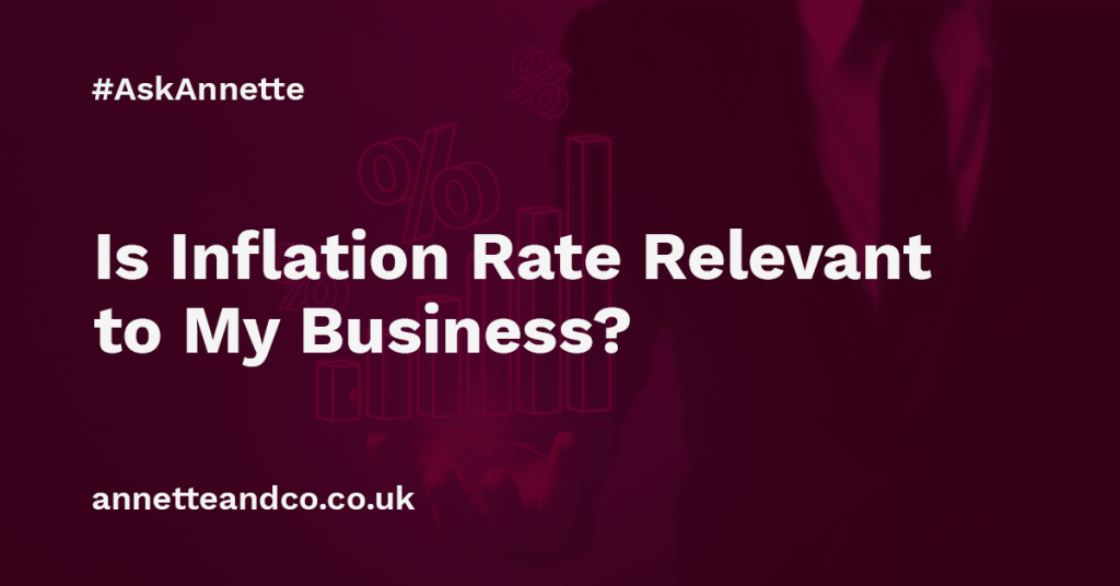 a featured image of a blog post that highlights the topic Is Inflation Rate Relevant to My Business