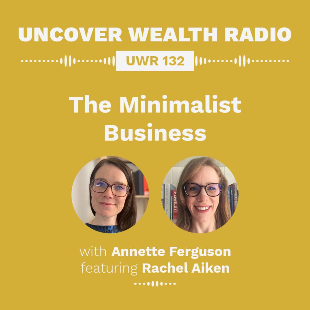 Annette Ferguson Podcast Banner - UWR 132