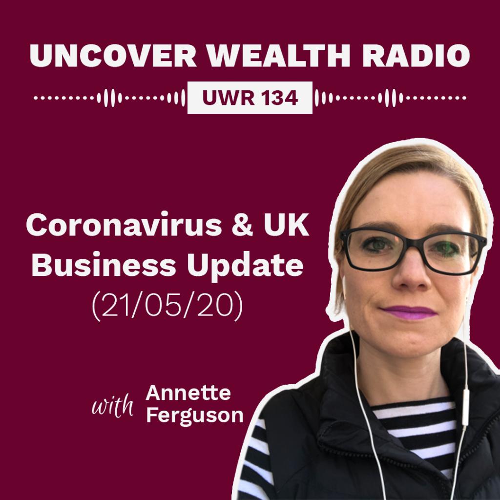 Annette Ferguson Podcast Banner - UWR 134