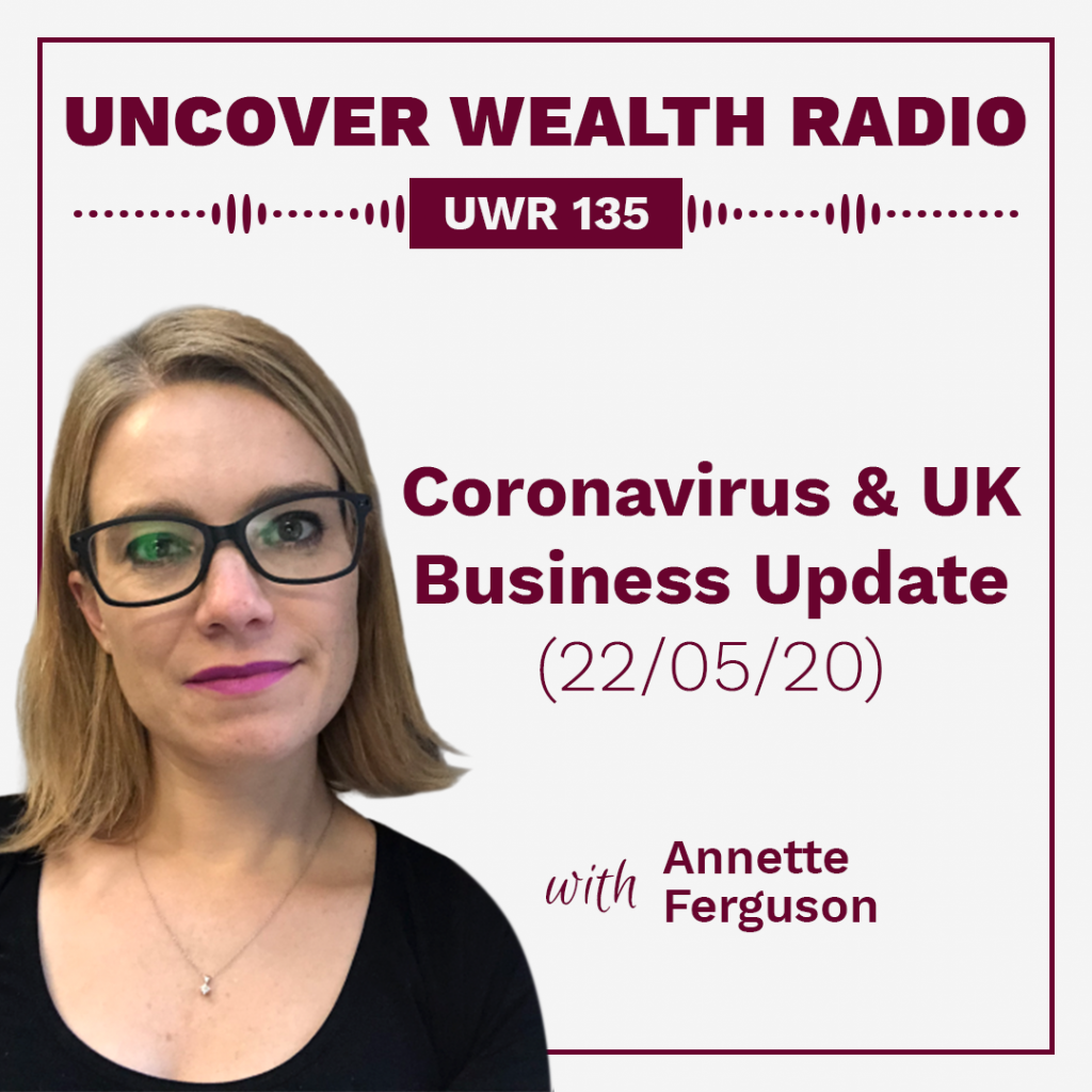 Annette Ferguson Podcast Banner - UWR 135