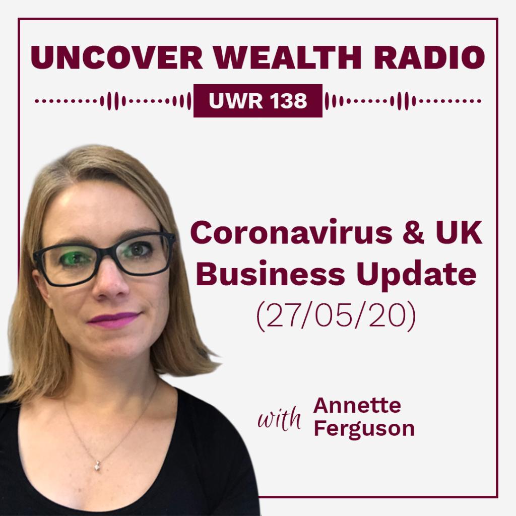 Annette Ferguson Podcast Banner - UWR 138
