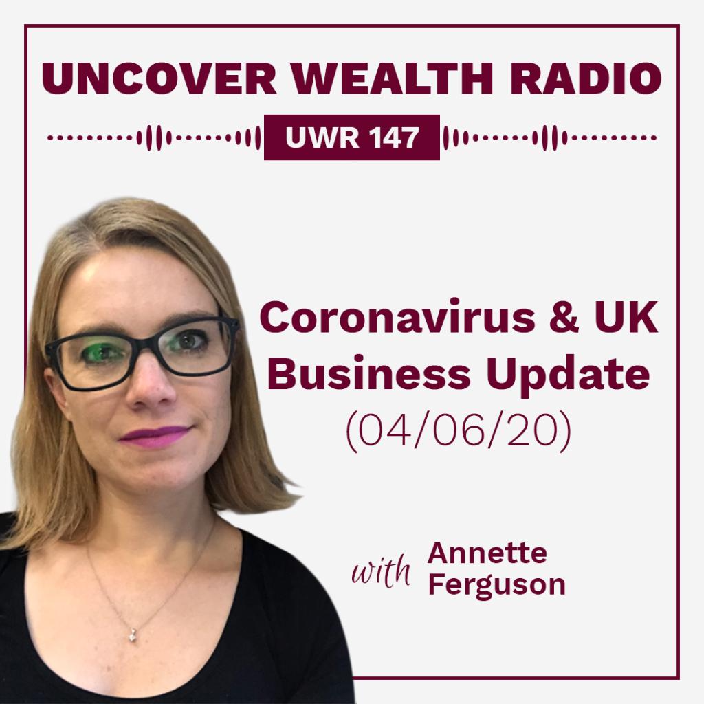 Annette Ferguson Podcast Banner - UWR 147