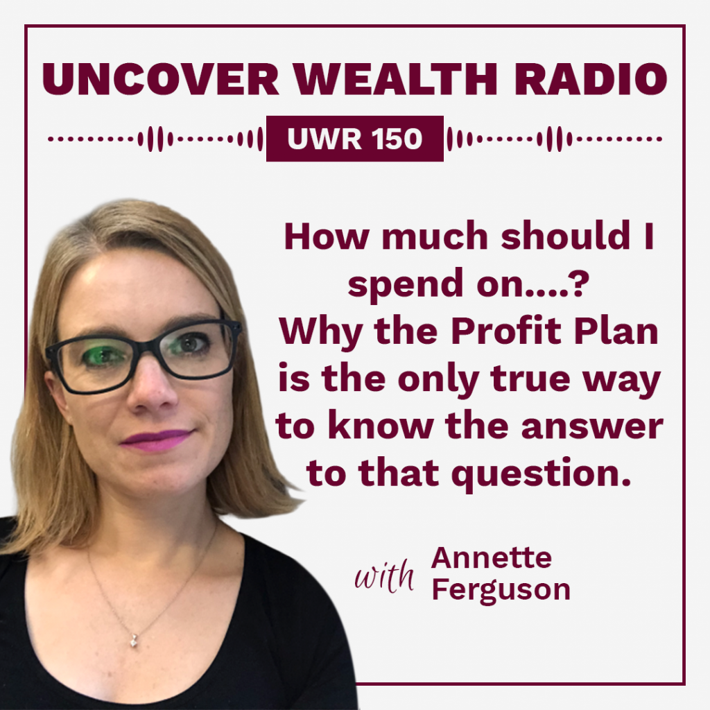 Annette Ferguson Podcast Banner - UWR 150