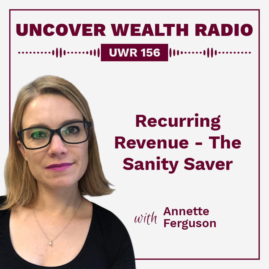 Annette Ferguson Podcast Banner - UWR 156