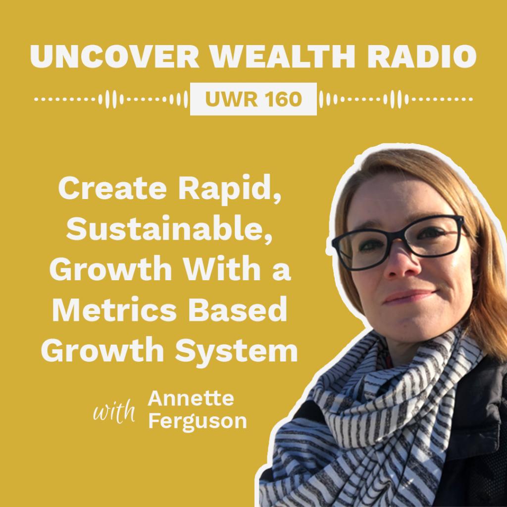 Annette Ferguson Podcast Banner - UWR 160