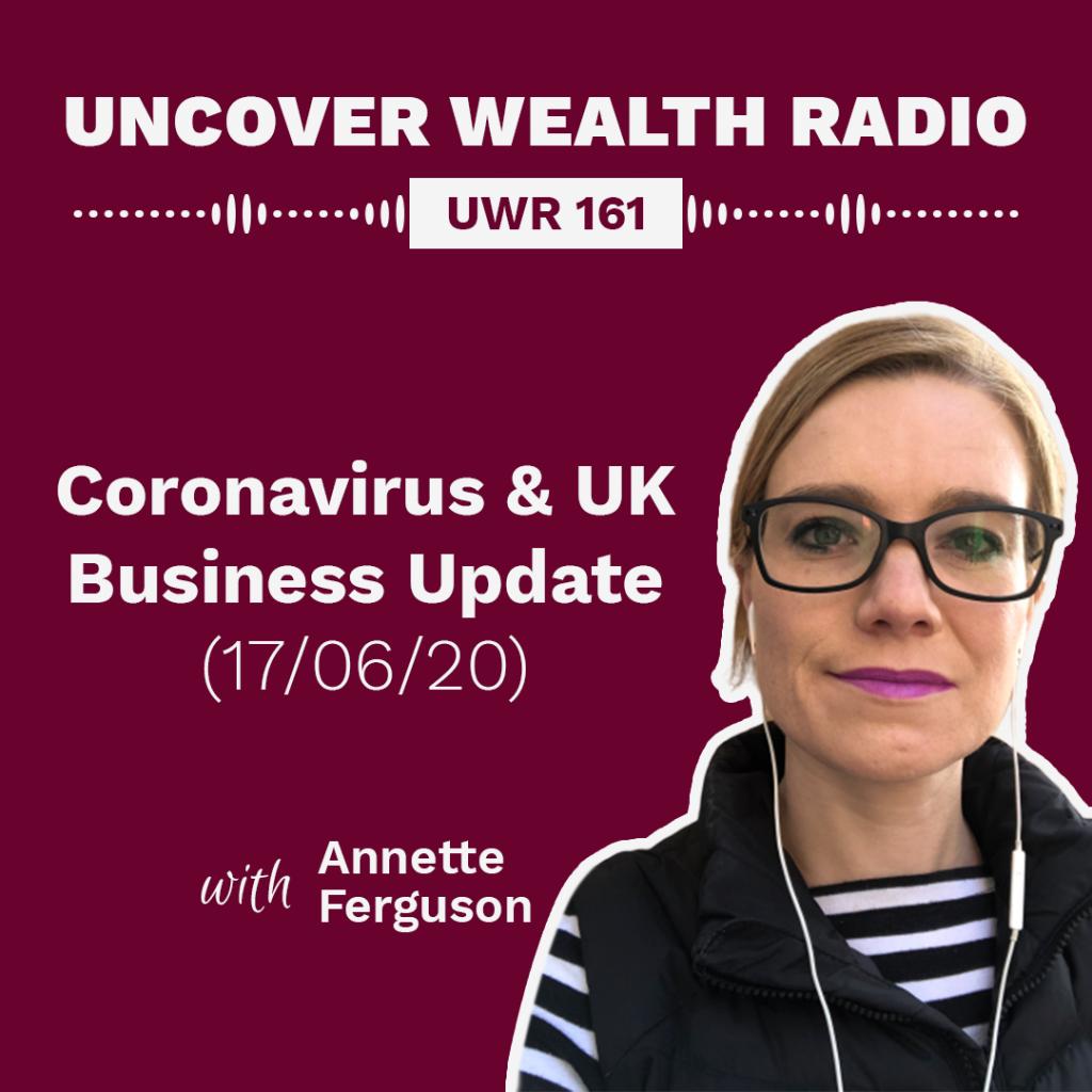 Annette Ferguson Podcast Banner - UWR 161
