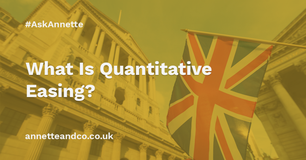 a featured image of a blog post that highlights the topic What Is Quantitative Easing