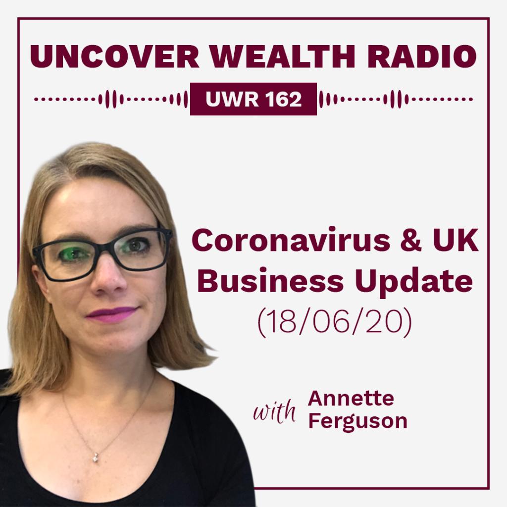 Annette Ferguson Podcast Banner - UWR 162