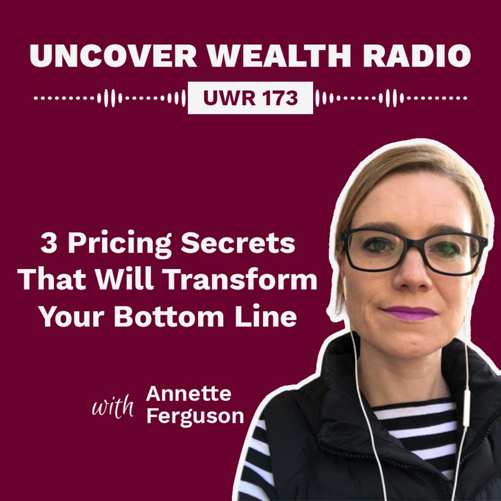 Annette Ferguson Podcast Banner - UWR 173