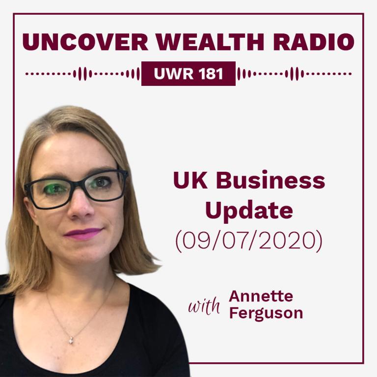 Annette Ferguson Podcast Banner - UWR 181