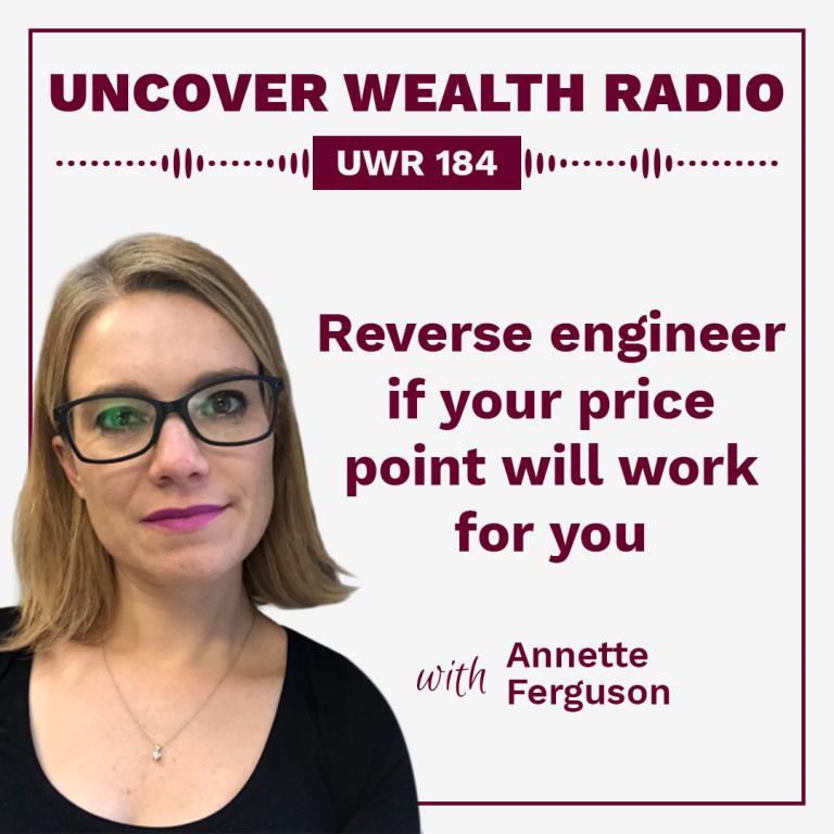 Annette Ferguson Podcast Banner - UWR 184