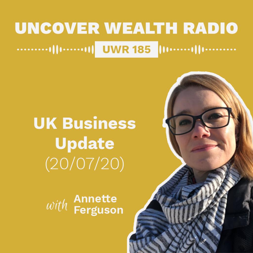 Annette Ferguson Podcast Banner - UWR 185