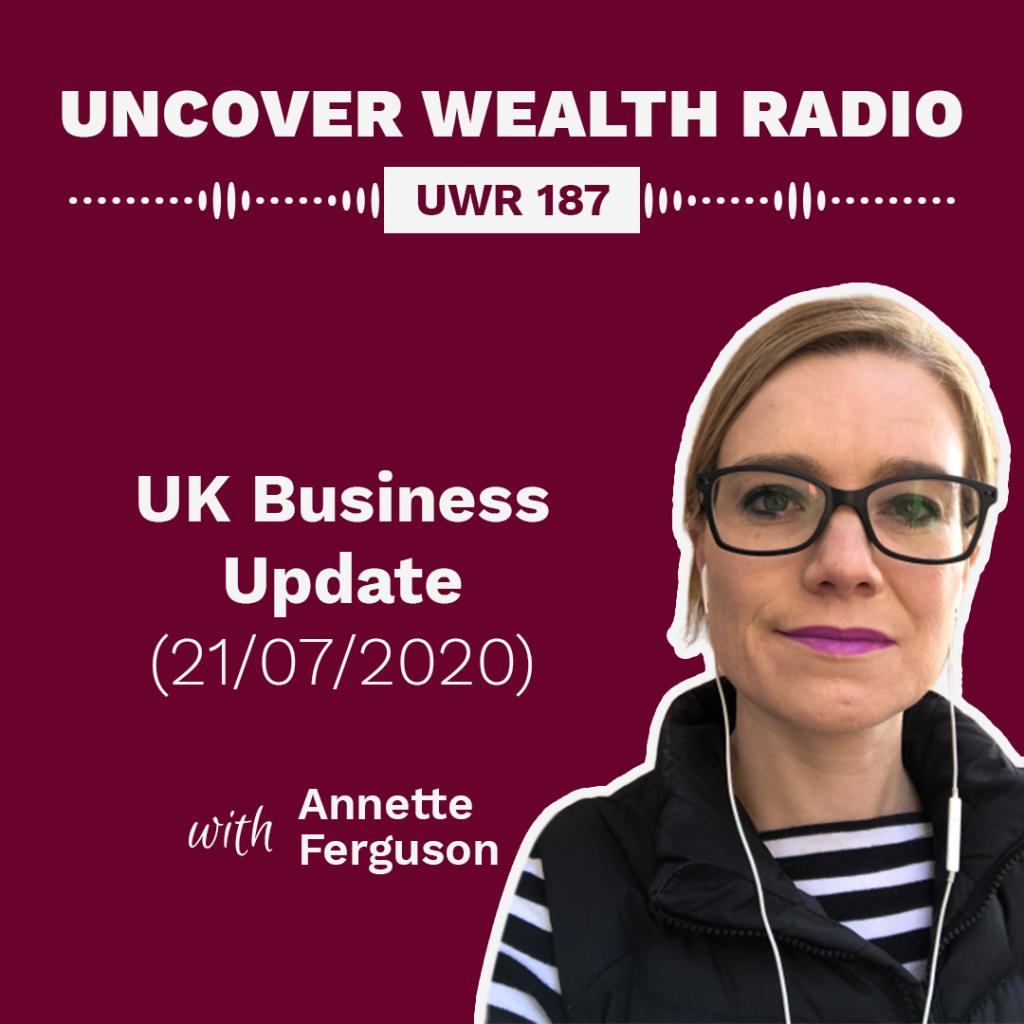 Annette Ferguson Podcast Banner - UWR 187