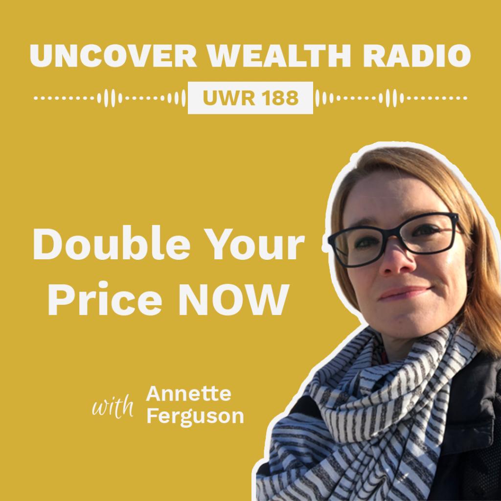 Annette Ferguson Podcast Banner - UWR 188