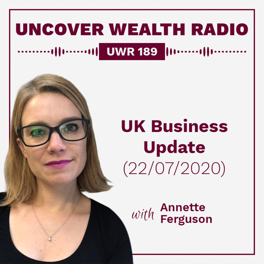 Annette Ferguson Podcast Banner - UWR 189