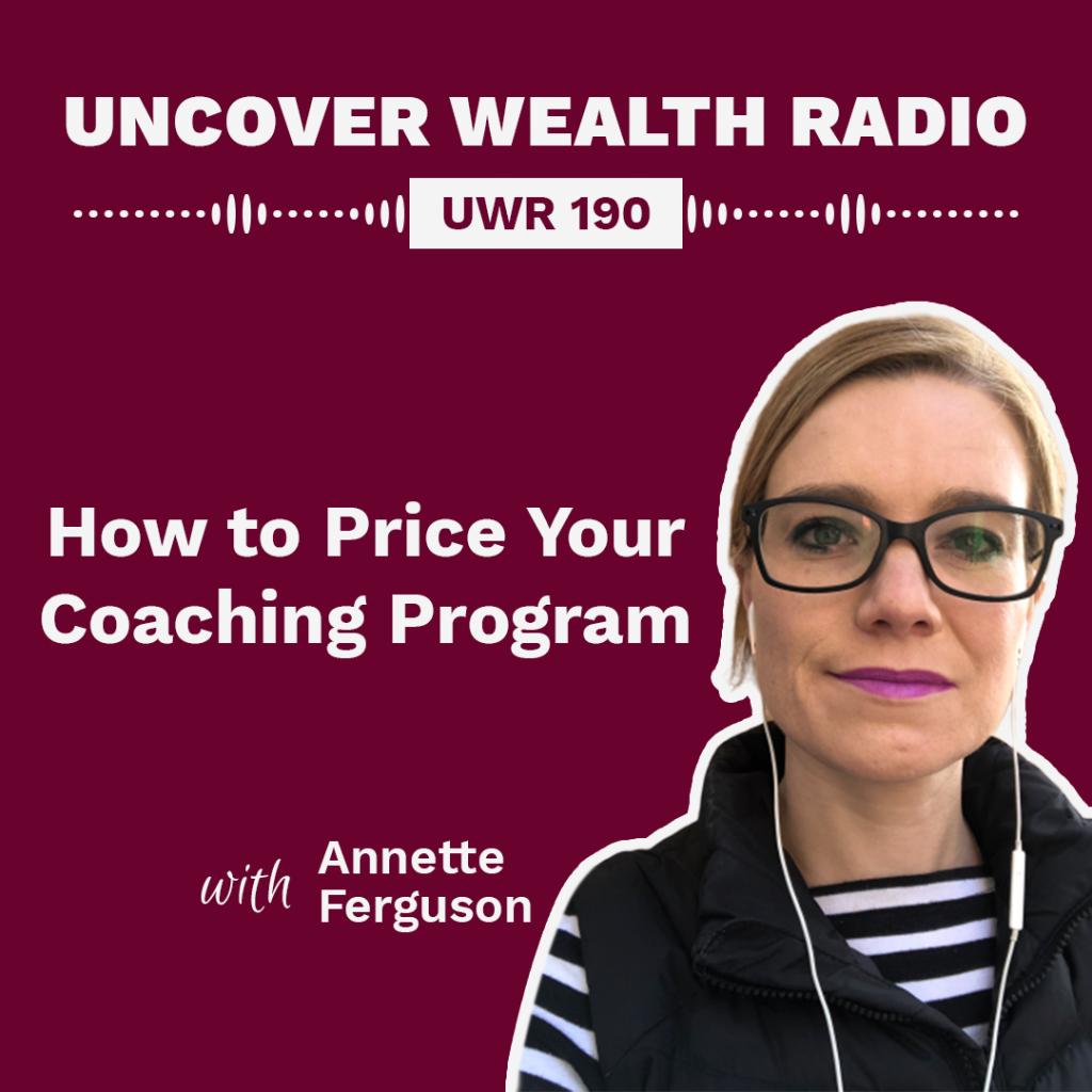 Annette Ferguson Podcast Banner - UWR 190