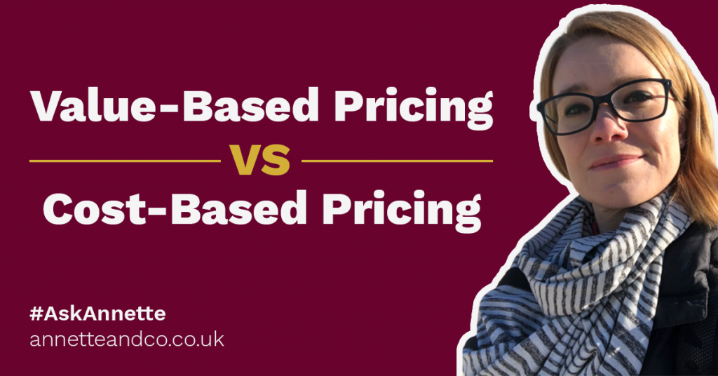 a featured image of a blog post that highlights the topic Value-Based Pricing VS Cost-Based Pricing