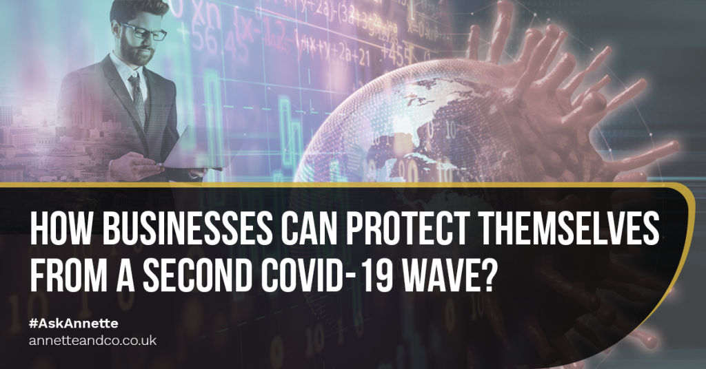 a featured blog image that features the topic How Businesses Can Protect Themselves From A Second COVID 19 Wave_
