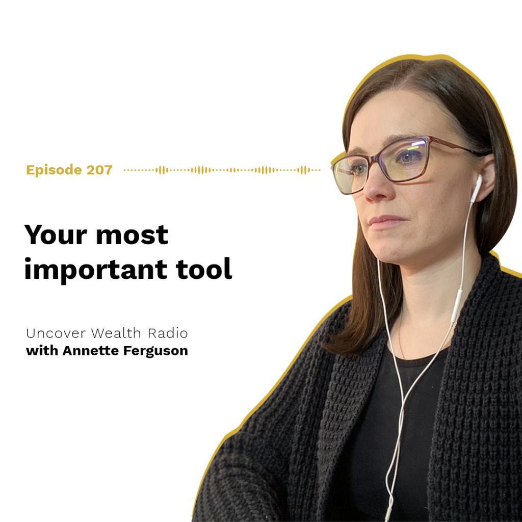 Annette Ferguson Podcast Banner - UWR 207