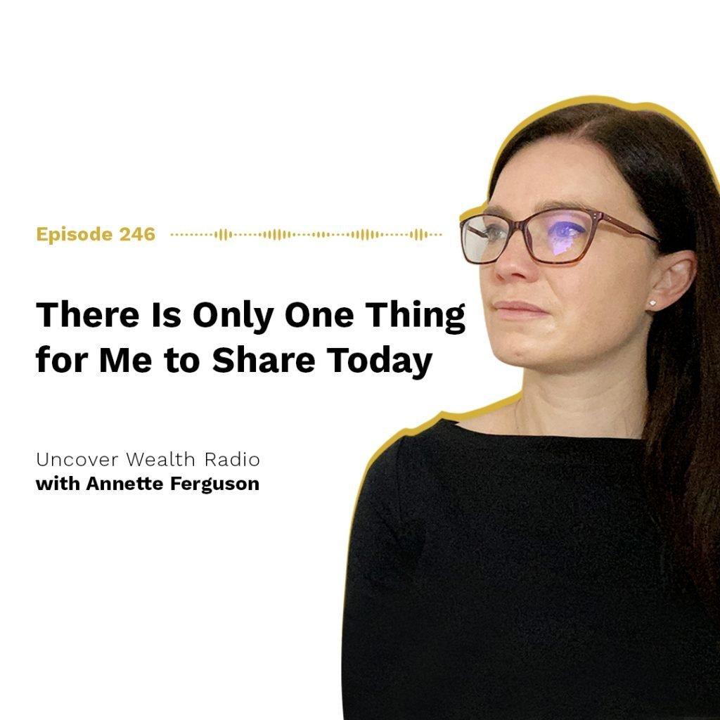 Annette Ferguson Podcast Banner - UWR 246