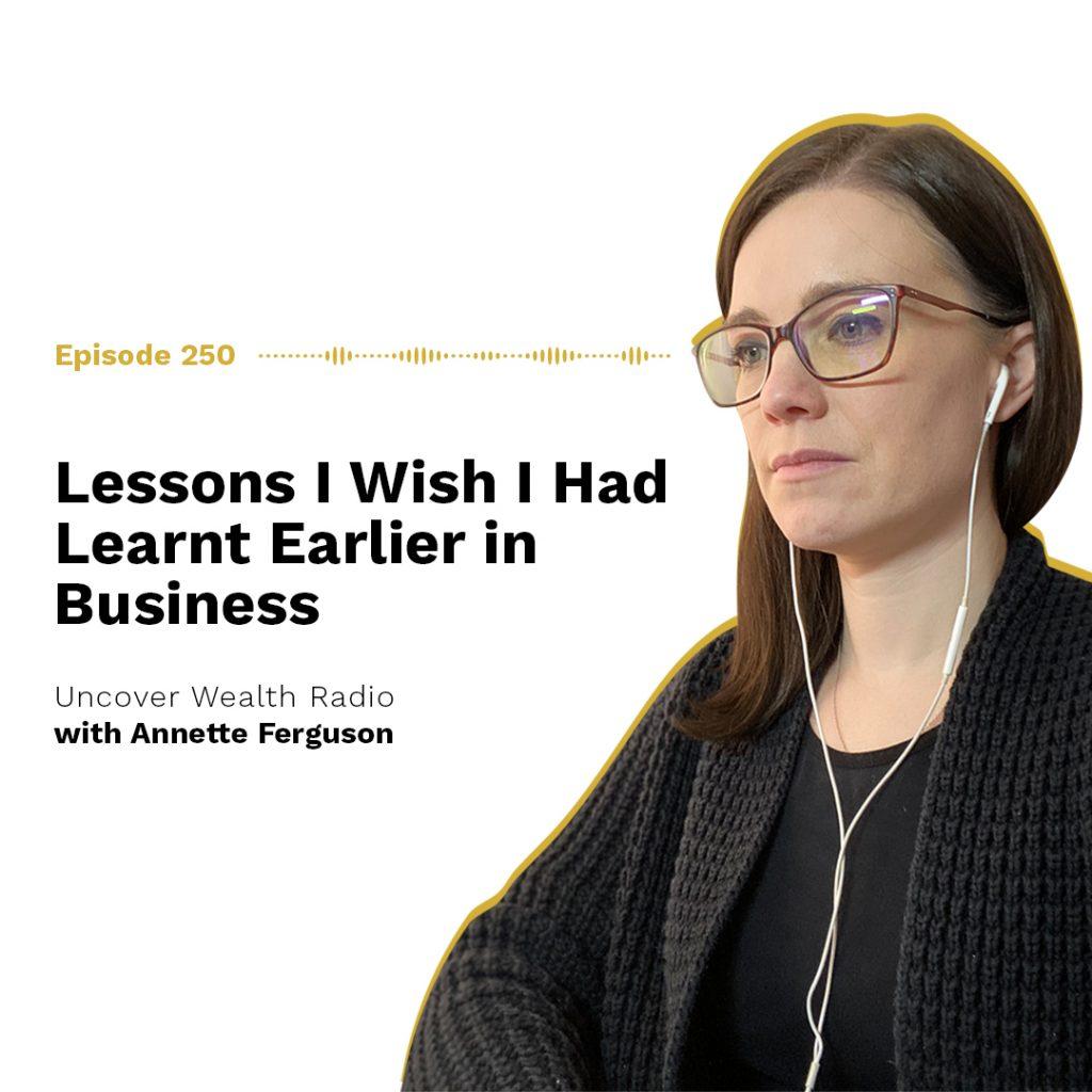 Annette Ferguson Podcast Banner - UWR 250