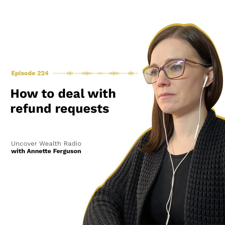 Annette Ferguson Podcast Banner - UWR 224