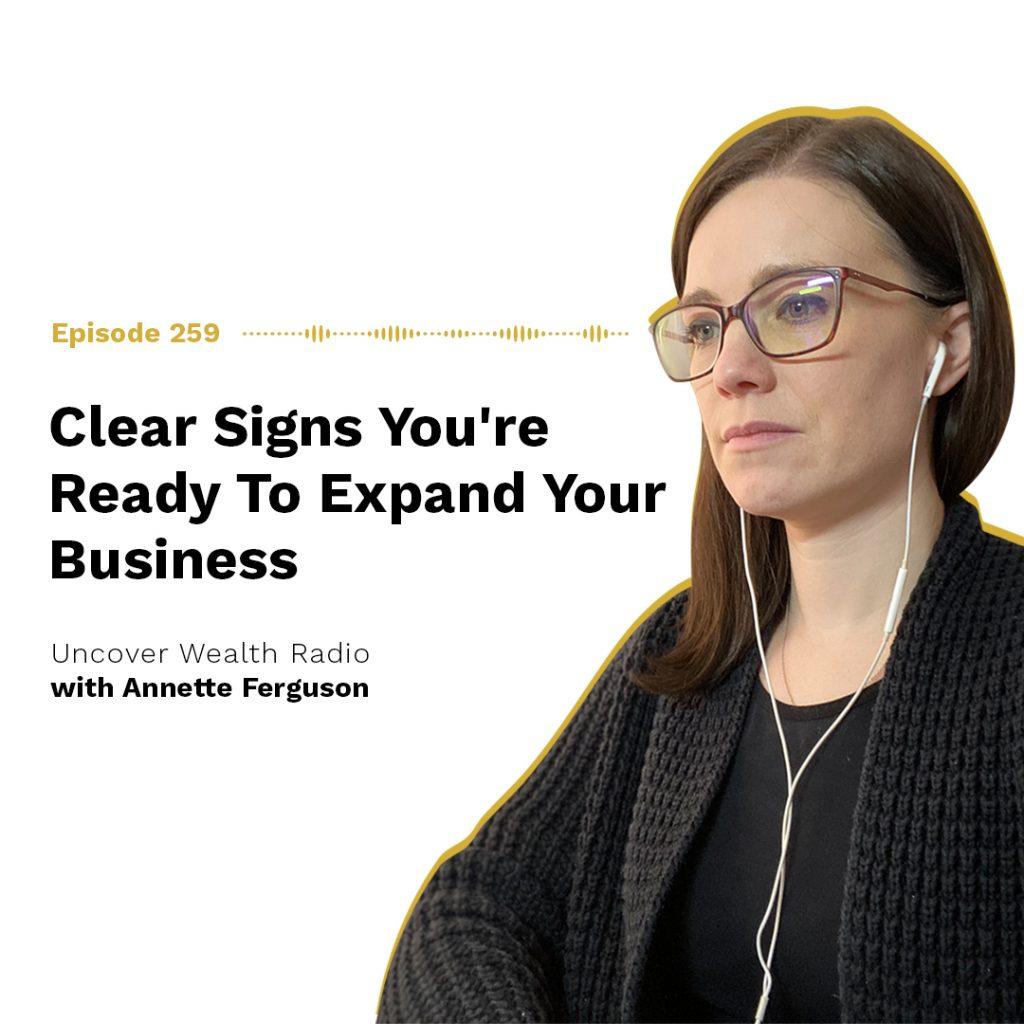 Annette Ferguson Podcast Banner - UWR 259