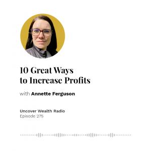 Annette Ferguson Podcast Banner - UWR 275