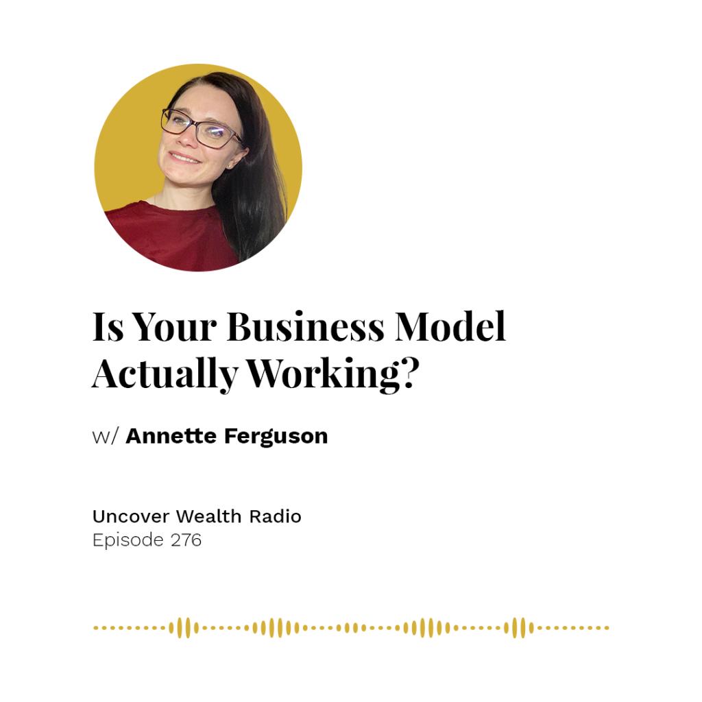 Annette Ferguson Podcast Banner - UWR 276