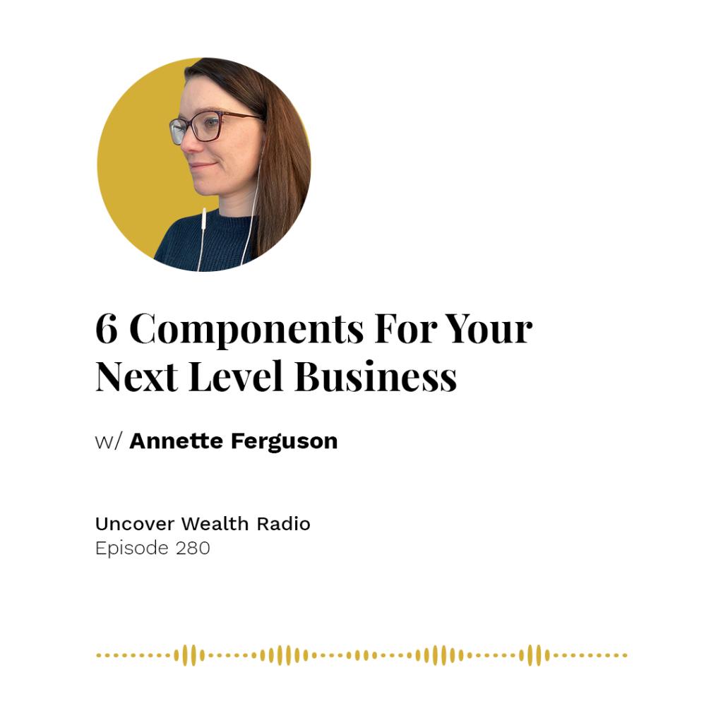 Annette Ferguson Podcast Banner - UWR 280
