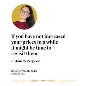 Annette Ferguson Podcast Banner - UWR 282
