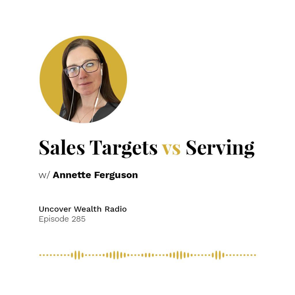 Annette Ferguson Podcast Banner - UWR 285