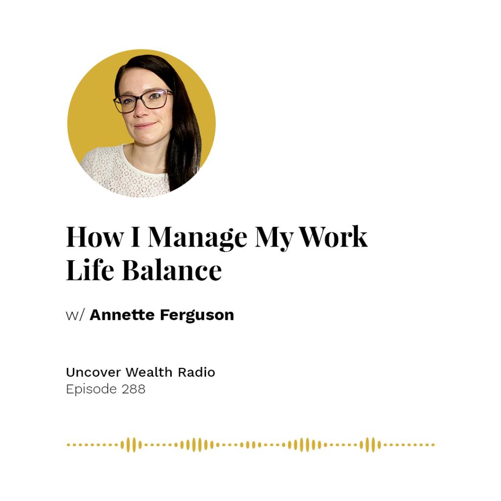 Annette Ferguson Podcast Banner - UWR 288