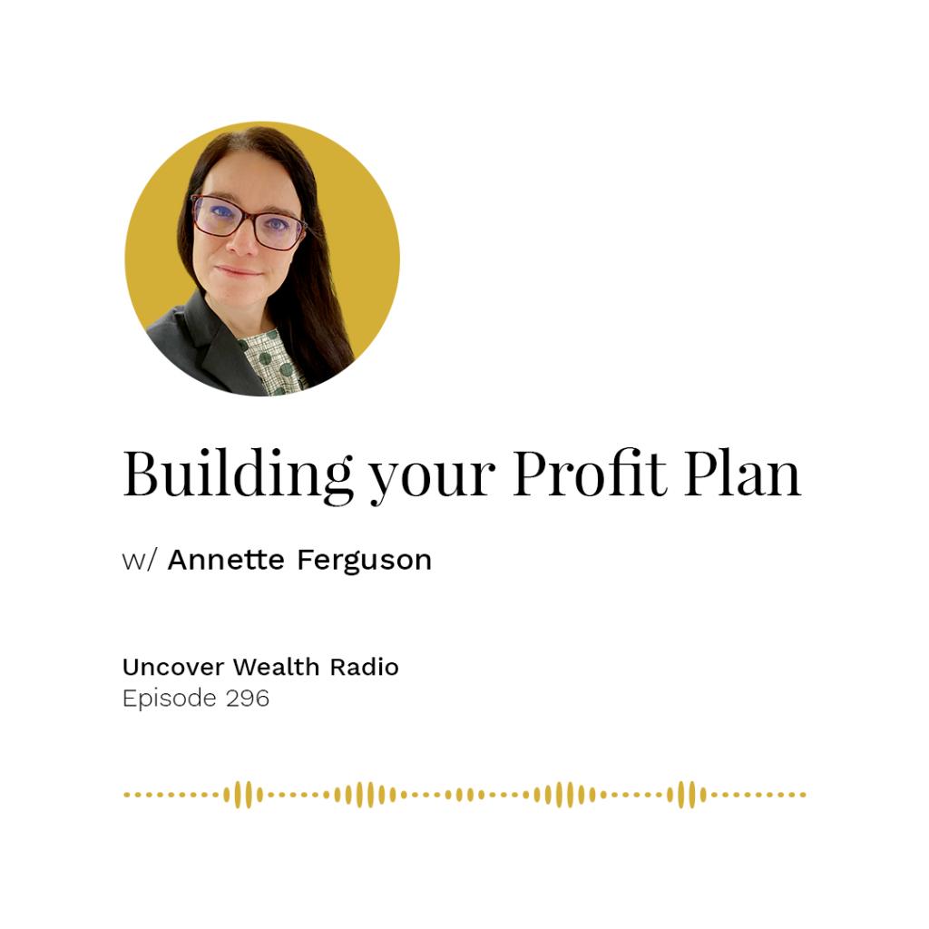 Annette Ferguson Podcast Banner - UWR 296