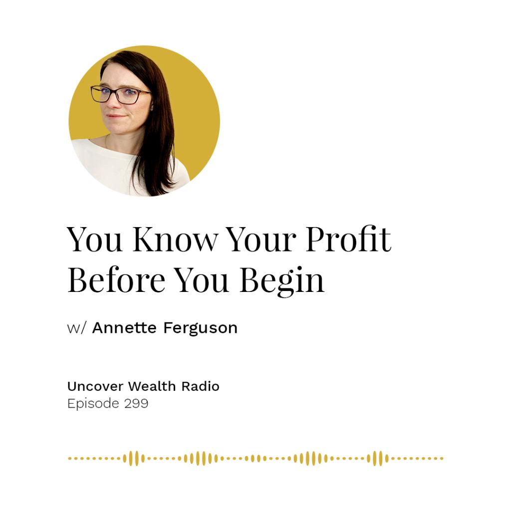 Annette Ferguson Podcast Banner - UWR 299