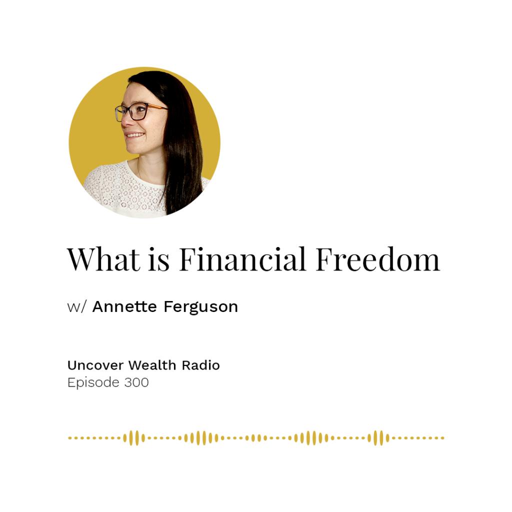 Annette Ferguson Podcast Banner - UWR 300