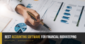 a blog featured image entitled Best Accounting Software for Financial Bookkeeping