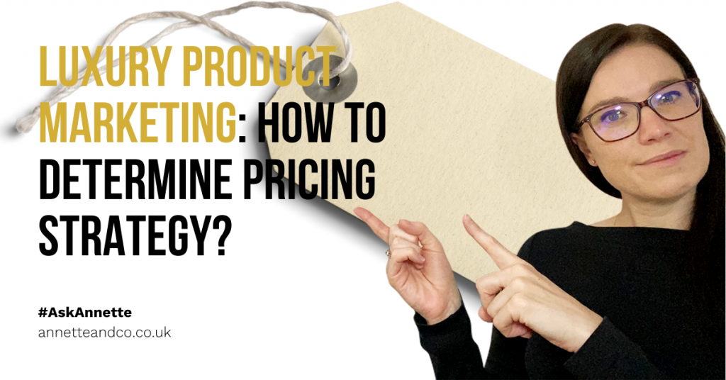 a blog featured image entitled Luxury Product Marketing: How to Determine Pricing Strategy?
