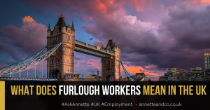 a blog featured image entitled What Does Furlough Workers Mean In the UK