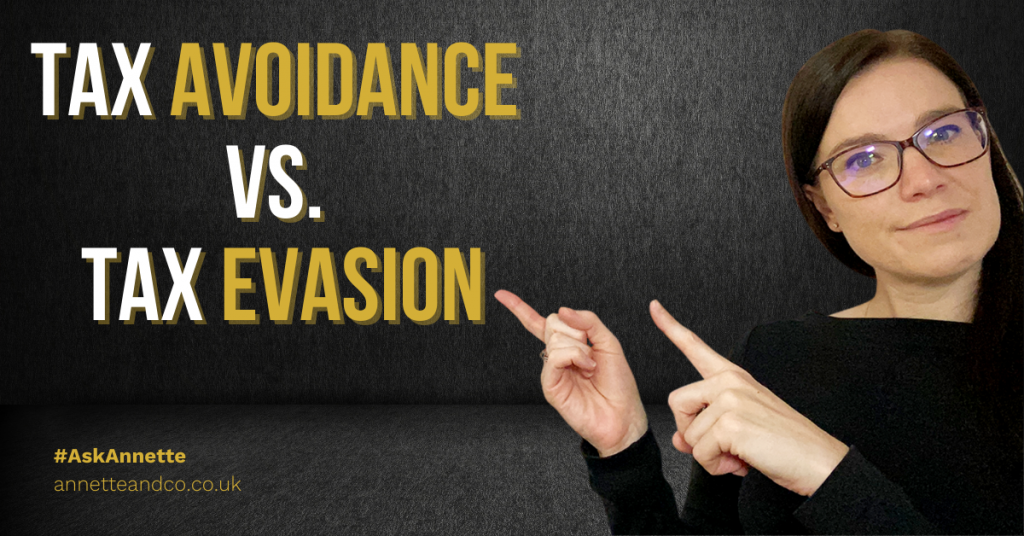 a blog featured image topic focus Taxes: about Tax Avoidance vs. Tax Evasion