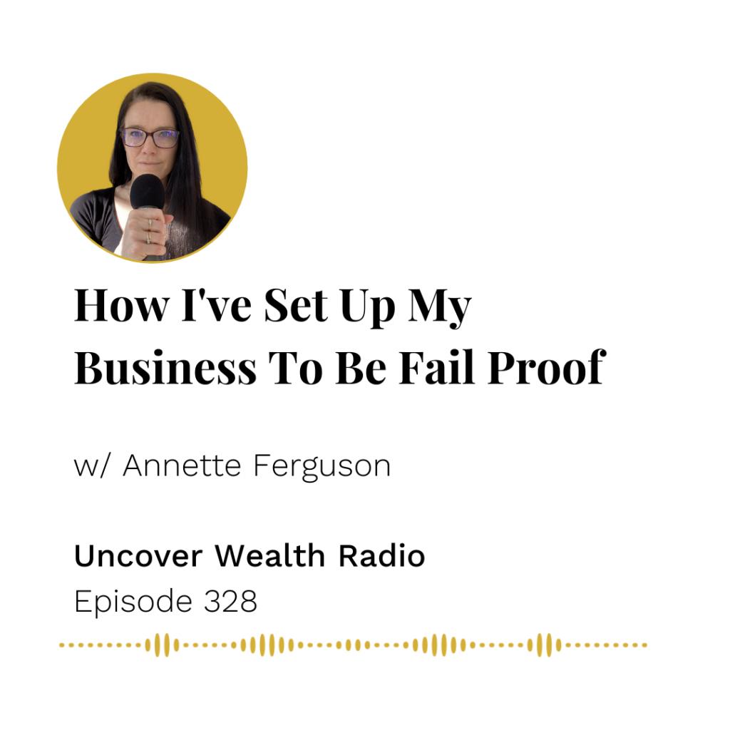 Annette Ferguson Podcast Banner - UWR 328