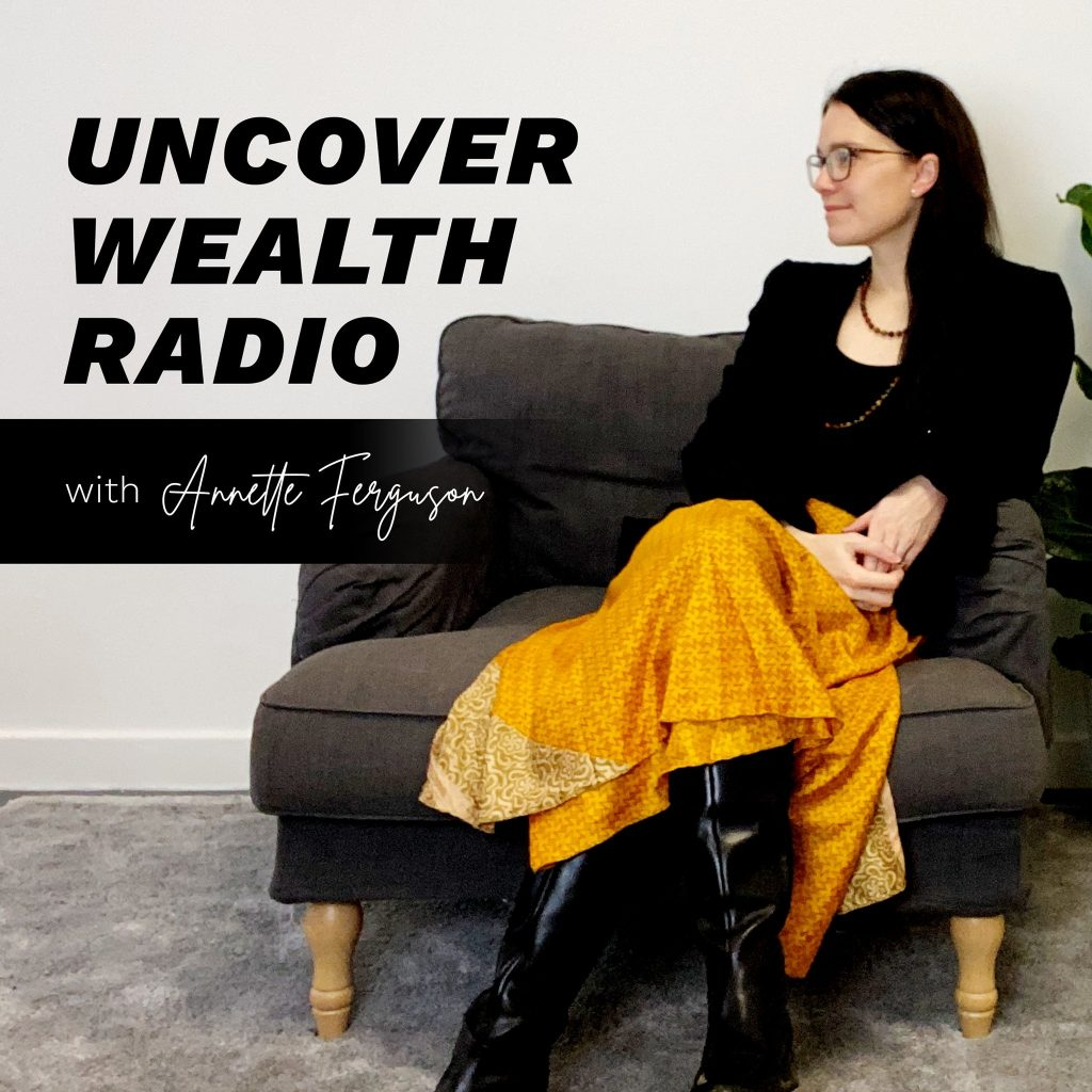 Uncover Wealth Radio Podcast Art