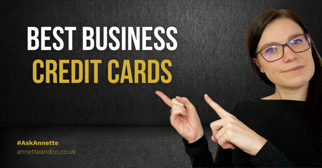 a blogfeatured image entitled about best business credit cards