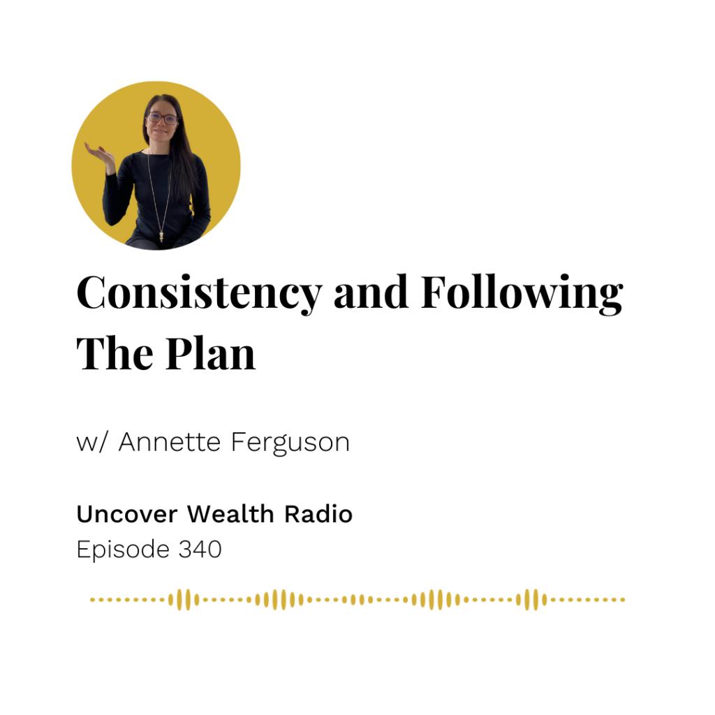 Annette Ferguson Podcast Banner - Uncover Wealth Radio 340